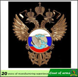 금 독수리 모양 금속 상징