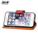 Вспомогательное оборудование мобильного телефона книги PU типа бумажника цены фабрики дешевое