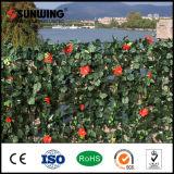 Sunwing neue Produkt-preiswertere Natur PVC-künstlicher grüner Wand-Zaun