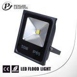 COB van uitstekende kwaliteit Outdoor Light 50W LED Flood Light met Ce (IP65)