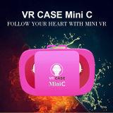 Vidros 3D da mini Vr caixa de Vr mini para Smartphones