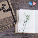 Выдвиженческое Gift Notebook с Elastic Strap (XL-JJZ-02)