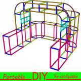 Nuevo diseño reutilizable portátil Exposición stand con luces internas