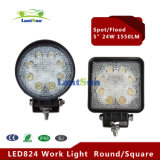 Piezas de automóvil 24W Car LED Work Light LED Lighting Spot