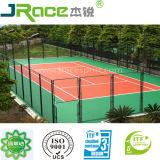 Quadra de tênis de borracha sintética de todas as condições do tempo