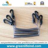 Крюк длины W/Plastic/Metal талрепа 40mm Unstretched инструмента франтовского провода спиральный