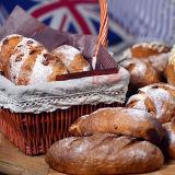 パン屋のセリウム(ZMZ-16M)のパンそしてケーキのための回転式ガスオーブン