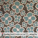 De TextielLevering voor doorverkoop van de Stof van het Kant van het bloemblaadje (M1395)