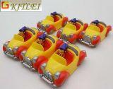 Véhicules modèles de jouet de retrait coulés sous pression par jouet en plastique fait sur commande d'usine d'OEM pour des gosses