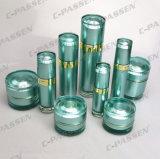 Neue Ankunfts-grünes kosmetisches Glas-u. Flaschen-Luxuxacrylsauerverpacken (PPC-CPS-058)