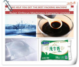 Jugo buena calidad de agua líquida de la leche bolsa bolsita de sellado de llenado Máquinas de embalaje