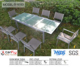 Blanc de meubles de jardin de fonte d'aluminium de qualité supérieure de prix concurrentiel