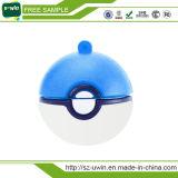 Lecteur flash USB fait sur commande de Pokeball Pikachu de cadeau acceptable de promotion d'OEM