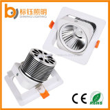 COB LED Downlight 10W Decoração Interior Tecto 3 Anos Warrranty Integrated Housing Down Light