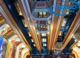 Elevación de visita turístico de excursión del alto elevador panorámico hermoso del edificio