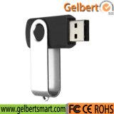熱い販売の昇進のギフトの金属の旋回装置USBのフラッシュ駆動機構