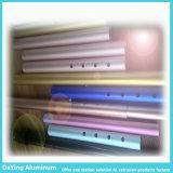 Extrusion en aluminium d'aluminium de couleur d'électrophorèse de Procesing en métal d'usine