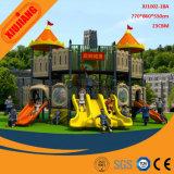Kind-Plastikspielzeug-Vergnügungspark, im Freienspielplatz-Geräten-Fabrik