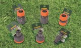ABS Garten-Schlauch-Befestigung stellte mit Schlauch-Verbinder, Adapter, Farbspritzpistole ein