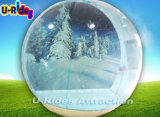 Tenda gonfiabile del globo della neve per natale