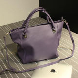 2017 echtes Leder-einfache Art-Eleganz-Entwerfer-Frauen-Handtasche Emg4728