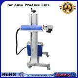 工場価格の銅の/Titanium /Steel/ABS/Pesのための光学はえのファイバーレーザーのマーキング機械