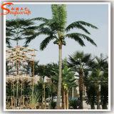 Alta palma artificiale di plastica d'imitazione della noce di cocco