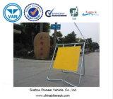 Panneaux temporaires de travaux routiers