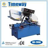 Máquina de Sawing horizontal da faixa de metal do pivô (GB-280A/B)