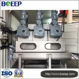 Sistema de desecación del lodo integrado de la planta de aguas residuales de la industria
