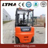 China Ltma de Elektrische Vorkheftruck met 4 wielen van de Batterij van 3.5 Ton
