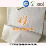 Carta velina di carta di marche di J e di G per lo spostamento di regali