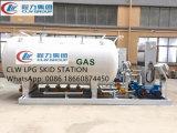 Gas die van LPG van het Ontwerp van de fabriek ASME 20mt het Mobiele de Post van de Steunbalk opnieuw vullen
