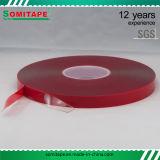 Bande acrylique de mousse de Vhb de qualité de Somitape/bande acrylique de Vhb pour la publicité, la glace et le métal extérieurs