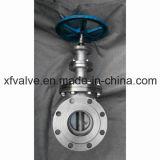 Acero inoxidable DIN estándar husillo no ascendente Válvula de compuerta
