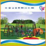 Patio al aire libre de la diversión del entrenamiento de los niños seguros excelentes de la calidad (A-15180)