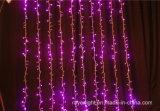Luzes da cachoeira da cortina do diodo emissor de luz da decoração de Christamas