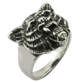 anillo del dragón del metal del acero inoxidable 316L