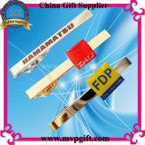 Gouden Cufflink van het metaal voor de Gift van de Bevordering (m-ck04)