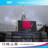 P6mm는 광고를 위한 옥외 HD 풀 컬러 발광 다이오드 표시 스크린을 예약했다