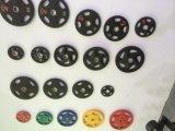 Plaque olympique enduite en caoutchouc de couleur de trous du film publicitaire diplôméee par ce 7