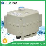 2 Camino 1 pulgada SS304 motorizado válvula de cierre de agua por filtrar detección (T25-S2-B)