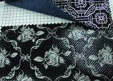 Мытье затир Jean белый и ясный для печати Jean
