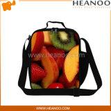 Sacchetto più freddo del pranzo isolato panno dei pacchetti di ghiaccio della spalla del poliestere della frutta
