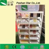 Revestimiento incombustible impermeable del panel de pared de la tarjeta del cemento de la fibra