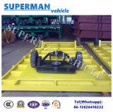 rimorchio industriale a base piatta di uso pratico del trattore 5t per bagagli