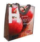Sacs d'emballage faits sur commande réutilisables favorables à l'environnement d'achats (LJ-41)