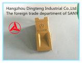Dente da cubeta da máquina escavadora da qualidade para feito na máquina escavadora de China Sany