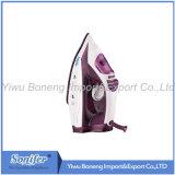 陶磁器のSoleplateが付いている移動の蒸気鉄Sf-9003の電気鉄(紫色)