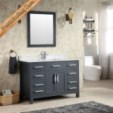 Fed-1952 Unique Double Einks Grey Finishing Modern Bathroom Cabinets